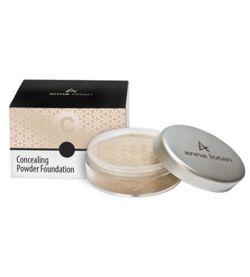 Anna Lotan Concealing Powder Foundation SPF17 Natural 202