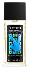 PLAYBOY Generation Men DEO spray glass 75ml