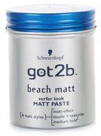 SCHWARZKOPF Got2b Beach Boy Matt Paste Force 3 100ml