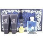 SET VERSACE Pour Homme EDT 100ml + ASB 100ml + SHOWER GEL 100ml + KEYCHAIN