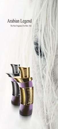 Arabian Oud Arabian Legend Silver dla niego próbka 1 ml