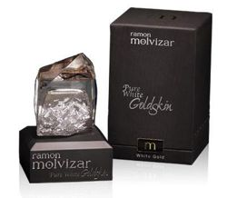 Ramon Molvizar Pure White Goldskin Unisex 75 ml